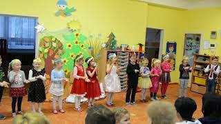 Vánoční koledy MŠ Stonožka - Motýlci a Mravenci 12.12.2017