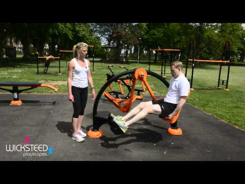 Leg Press - Outdoor Fitness Equipment