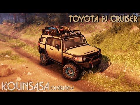 Toyota FJ Cruiser зелёный