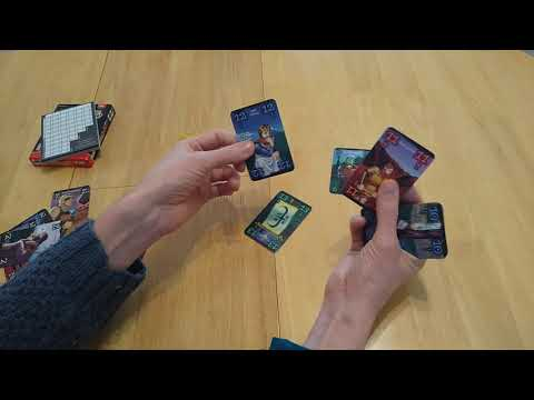 Wizard Trick Taking Card Game - How To Setup Play And Review * Amass Games *