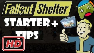 Fallout Shelter - 5 Starter Tips + Bonus Lunchboxes HD - Android - iOS