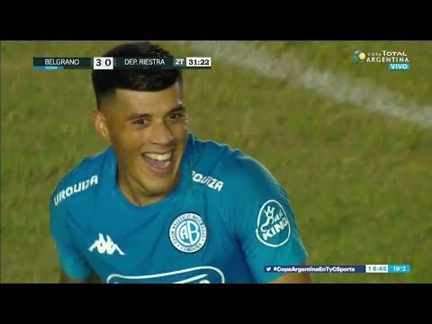 Copa Argentina : BELGRANO DE CÓRDOBA 3 - 0 RIESTRA (Los Goles)