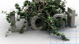 Photoshop CS6 - 3D - Ivy Generator