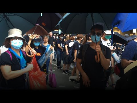 Funeral Money Used In Hong Kong Protests