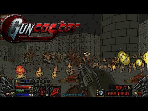 Guncaster & Maps Of Chaos with Doom II Hell On Earth, Levels 7-11