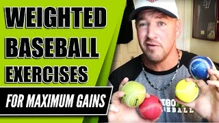 Weighted Baseball Exercises for Maximum Pitching Gainz! [Office Hours w Coach Madden Ep.105]