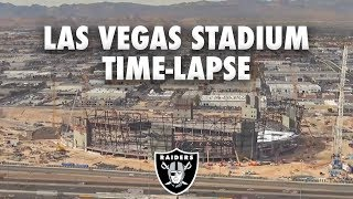 Las Vegas Stadium Construction Time-Lapse [13 months of work]