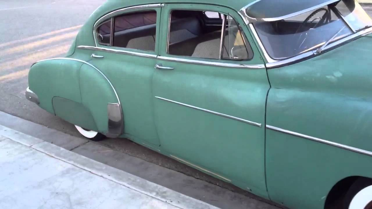 All Chevy 1951 chevy deluxe for sale : 1950 Chevy deluxe bomb - YouTube