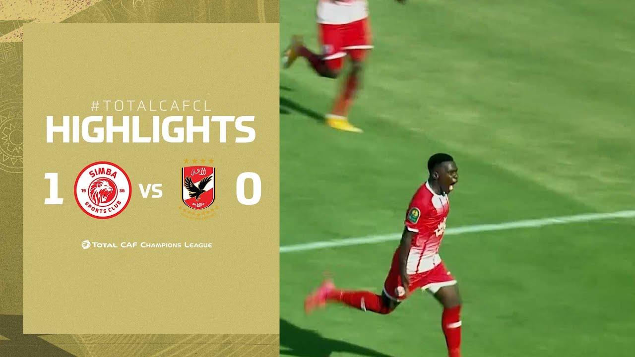 HIGHLIGHTS | Simba SC 1-0 Al Ahly SC | MD 2 | TotalCAFCL