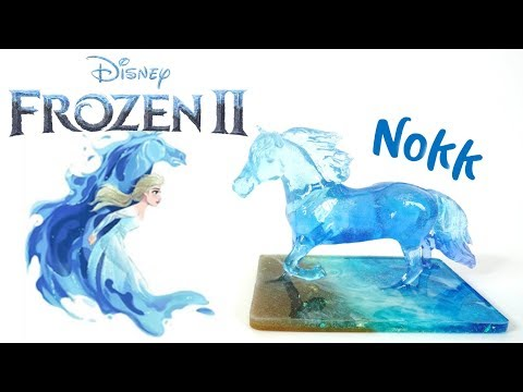 Frozen 2 Inspired Resin Nokk Horse DIY Tutorial
