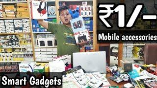 Mobile accessories sale starting at ₹1/-  speakers Headphones, Earpods Charger power banks VANSHMJ