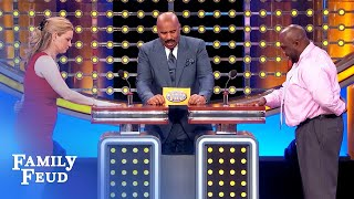 Feeling ROMANTIC? What are you bringing to BED? | Family Feud
