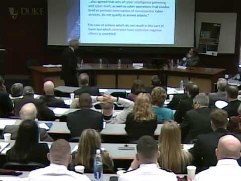LENS Conference 2013 | Michael N. Schmitt, The Law of Cyberwar: The Tallinn Manual