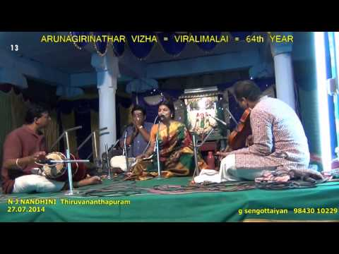 Thiruvananthapuram N J Nandhini =13  Sennikulanagar vaasan   kavadi sinthu