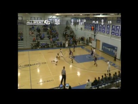 Jamal Branco - vs. #15 Waldorf College. 25 points, 7 assists, 7 rebounds. (#3 in White)