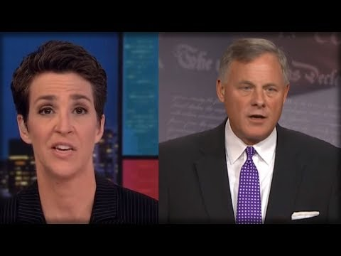 RACHEL MADDOW HANGS HEAD IN ABSOLUTE SHAME AS RICHARD BURR DESTROYS HER BIGGEST LIE ABOUT TRUMP