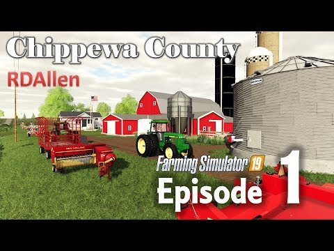 Lots Of Plowing To Be Done! | E1 Chippewa County | Farming Simulator 19