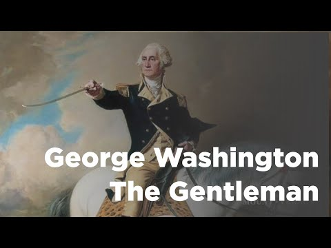 What can George Washington's Smallsword tell us about his status as a Gentleman?