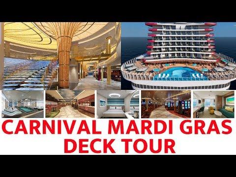Carnival Mardi Gras Deck Tour 2019 Youtube