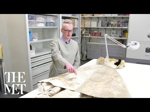 House of Worth Ball Gown: Behind the Scenes at The Costume Institute Conservation Laboratory