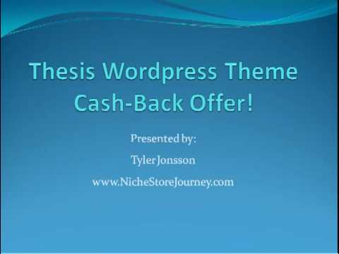 the thesis theme Thesis 21 is finally out, and it's a feature packed wordpress theme now all thesis designers are happy with the new interface of thesis and giving great review and feedback about it for end users, customizing thesis theme might not be that easy, so you can always grab available skin from the.