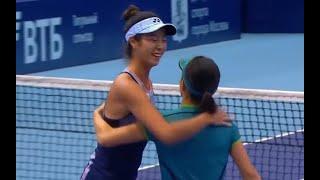 Highlights Moscow Doubles SF Shibahara/Aoyama [柴原 瑛菜/青山 修子] v Siniakova/Dabrowski