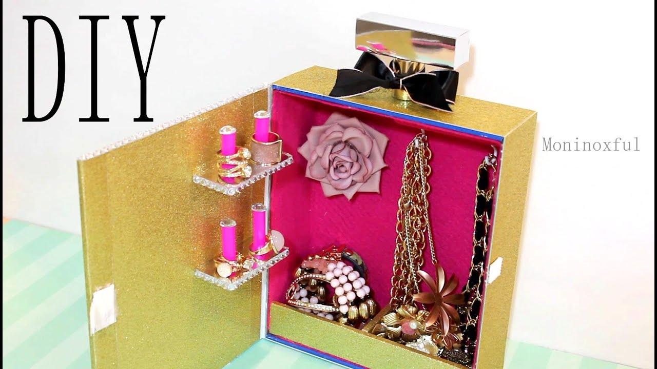 C mo hacer un joyero en forma de frasco de perfume - Ideas para hacer un cabecero original ...