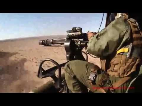 Aerial Gun Shoot HMLAT-303 - Awesome Footage Of Marine Pilots & Gunners In Action!