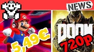 DOOM außschließlich in 720p spielbar. / Super Mario Run bekommt Riesenupdate! - NerdNews #175