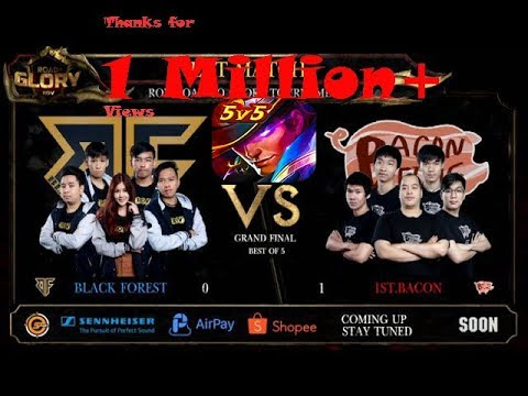 Rov  Black Forest VS 1st Bacon (Grand Finals ฉบับตัด)