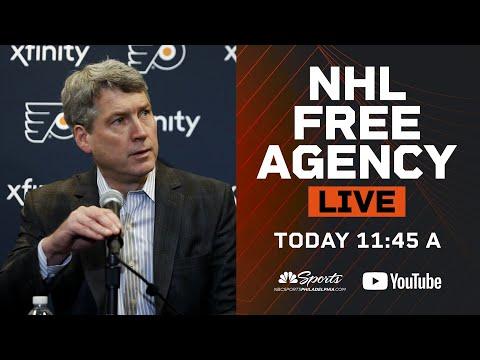 Flyers free agency | Live Stream