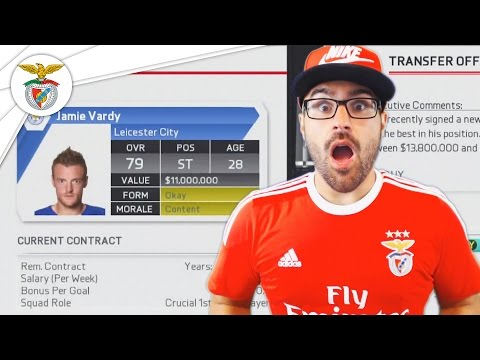 $100,000,000 IN TRANSFER DEALS! FIFA 16 Benfica Career Mode #02