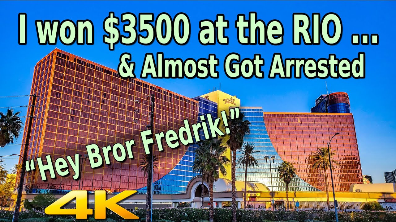 Download I WON $3500 AT THE RIO LAS VEGAS AND ALMOST GOT ARRESTED