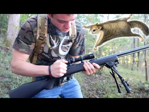 Squirrel Hunting Challenge! Ft. Braydon Price