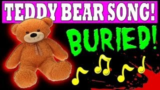 BURIED ZOMBIES:  HIDDEN TEDDY BEARS AND SONG Location Walkthrough  (Black Ops 2 ZOMBIES) [HD]