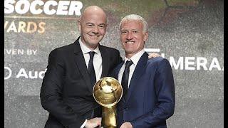 Didier Deschamps - Best Coach of the Year - Globe Soccer Awards 2019