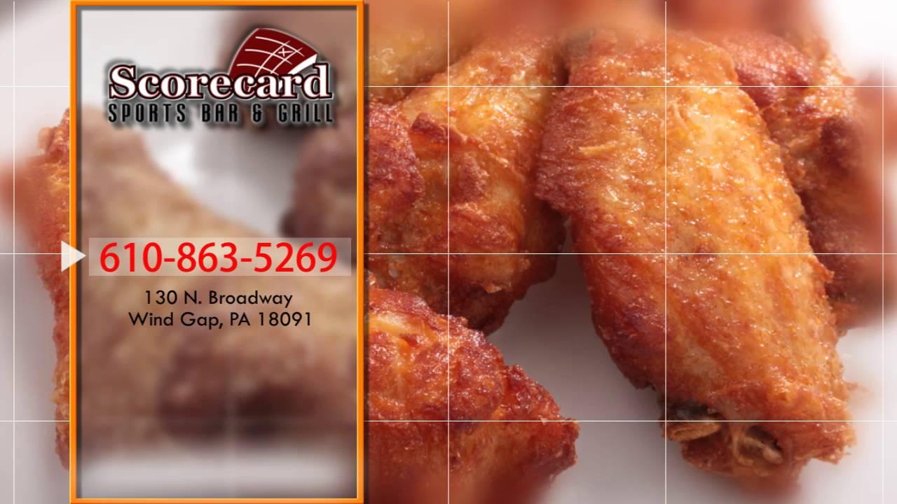 Scorecard Sports Bar Grill Local Restaurant In Wind Gap Pa 18091