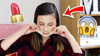 Applying Makeup over a PEEL OFF Face Mask?! ♡