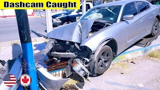 Ultimate North American Cars Driving Fails Compilation - 190 [Dash Cam Caught Video]