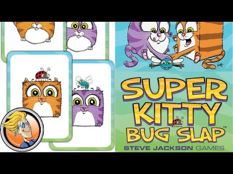 Super Kitty Bug Slap Card Game