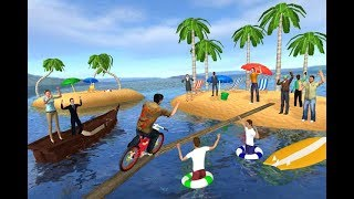 Waterpark Bicycle stunt racing Latest BMX Cycling full HD Trailer by 3Bee Studio