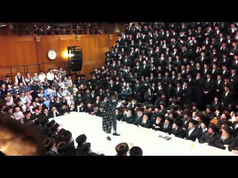 Purim with Chatzatzker Rebbe in Sanz Klausenburg Part 1
