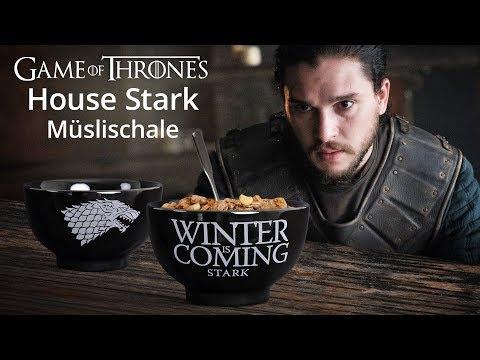 Game Of Thrones: House Stark Müslischale