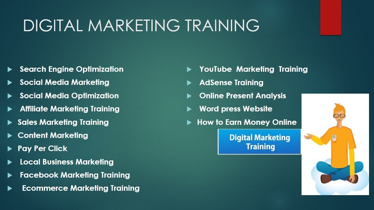 English is used widely internationally, and there's a ready demand for good english speakers in the job market. Digital Marketing Tutorial for Beginners Online course in ...