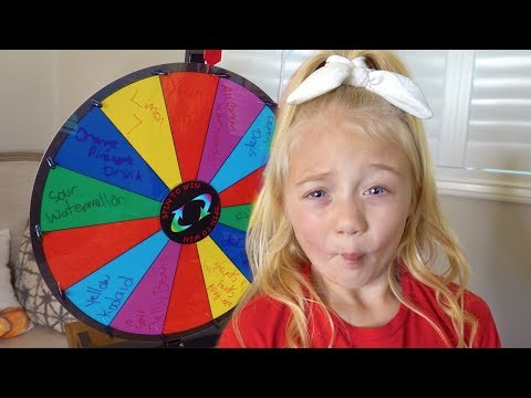 Worlds Most Sour Candy Spin Wheel Challenge!!!
