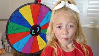 World's Most Sour Candy Spin Wheel Challenge!!!