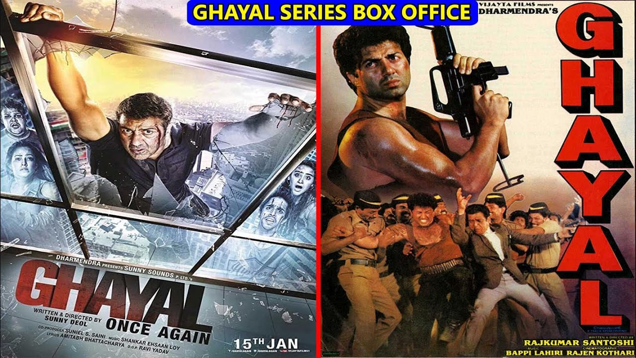 Download Ghayal 1990 vs Ghayal Once Again 2016 Movie Budget, Box Office Collection and Verdict | Sunny Deol