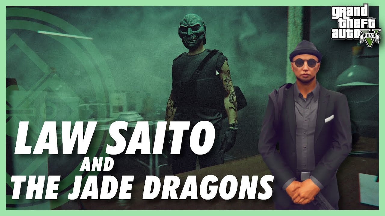 Law Saito & The Jade Dragons : Rusty Nails