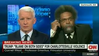 Dr  West comments on Trump's shocking Press Conference on Charlottesville