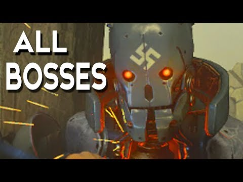 Wolfenstein 2 The New Colossus - All Bosses / Boss Fights + Ending